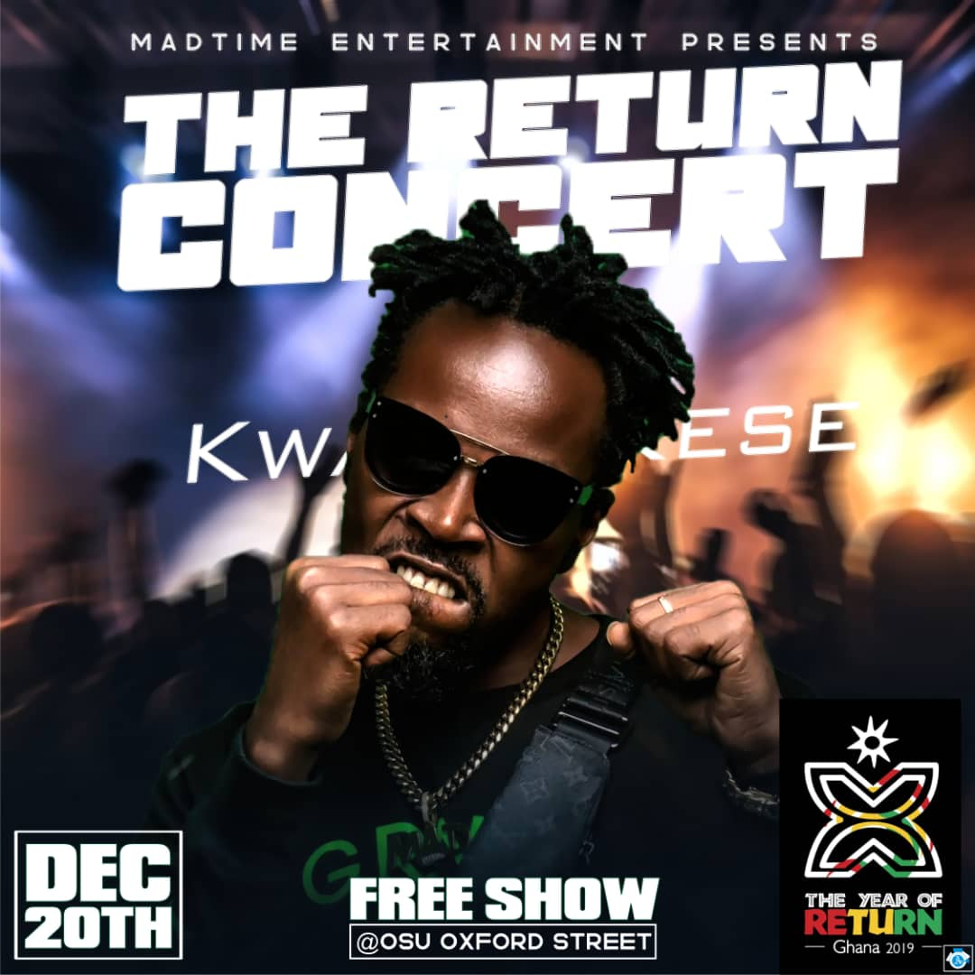 Kwaw Kese Concert