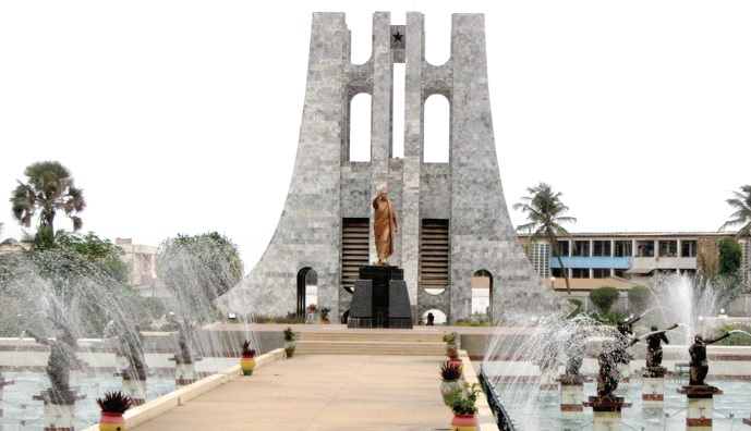 Visit Ghana and have fun hanging out at Kwame Nkrumah Memorial Park