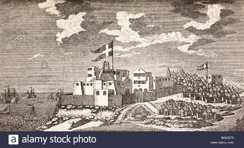 danish-colonial-fort-fort-christiansborg-now-osu-castle-accra-ghana-BGKD73