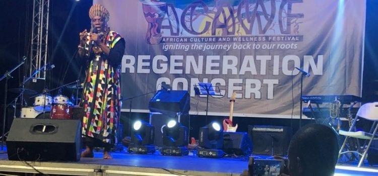 YEAR OF RETURN: ACAWF Regeneration Concert performances
